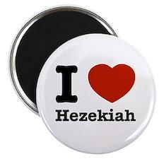 I love Hezekiah Magnet