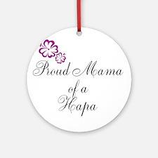 Proud Mama Ornament (Round)
