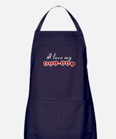 I love my Mal-Shi Apron (dark)