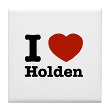 I love Holden Tile Coaster