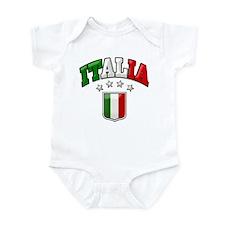4 Star Italia Soccer Infant Bodysuit