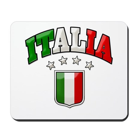4 Star Italia Soccer Mousepad