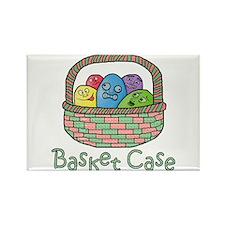 Basket Case Easter Eggs Rectangle Magnet