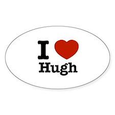 I love Hugh Decal