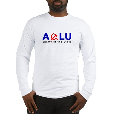 ACLU - Enemy of the State Long Sleeve T-Shirt