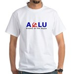 ACLU - Enemy of the State White T-Shirt