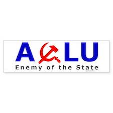 ACLU - Enemy of the State Bumper Bumper Sticker