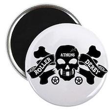 """Funny Roller derby 2.25"""" Magnet (100 pack)"""