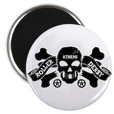 "Cute Roller derby 2.25"" Magnet (10 pack)"