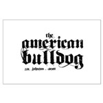 American Bulldog Large Poster