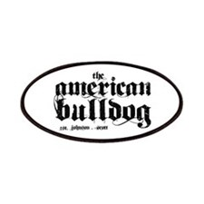 American Bulldog Patches