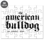American Bulldog Puzzle