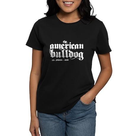 American Bulldog Women's Dark T-Shirt