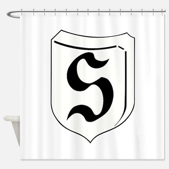 Luftwaffe Secret Project Shower Curtain