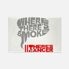 Where there's smoke Rectangle Magnet