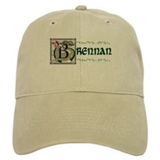 Brennan Illuminated Art Baseball Baseball Cap