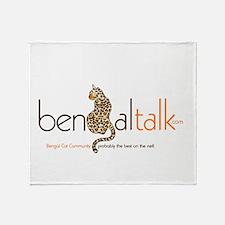 Funny Bengal Throw Blanket