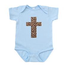 LEOPARD CROSS Infant Bodysuit