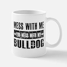 Funny Bulldog Design Mug