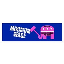 RAISE FOR CONGRESS Bumper Bumper Sticker