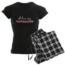 I love my Schnoodle Pajamas