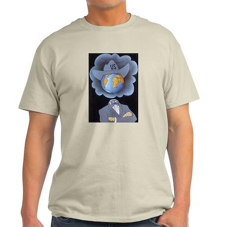 Anti-Imperialist USA Ash Grey T-Shirt