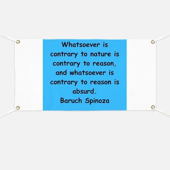 Spinoza Banner