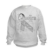 My Daughter is a Survivor Sweatshirt