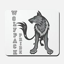 Wolf Pack Pride! Mousepad