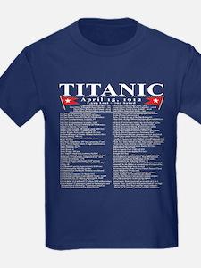 Titanic Ship Statistics T