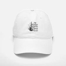 I'm Rockin' White for my Dad Baseball Baseball Cap