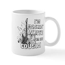 I'm Rockin' White for my Cous Mug