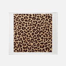 LEOPARD PRINT Throw Blanket