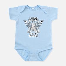 I Wear White for my Son Infant Bodysuit