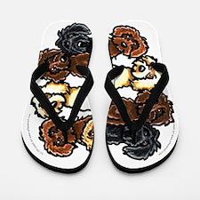 Lotsa Labradoodles Flip Flops