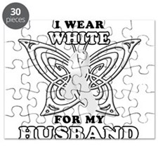 I Wear White for my Husband Puzzle