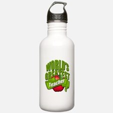 Worlds Greatest Teacher Water Bottle