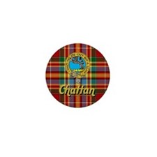 Chattan Ancient Tartan/Badge Mini Button (10 pack)
