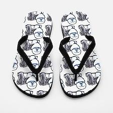 Lotsa Sheepdogs OES Flip Flops