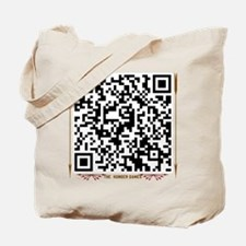 QR Code May the Odds..quote Tote Bag