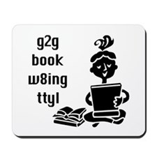g2g book w8ing Mousepad