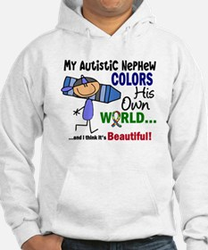 Colors Own World Autism Hoodie