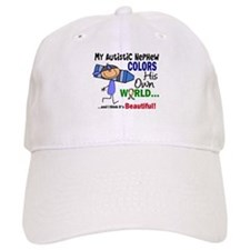 Colors Own World Autism Baseball Cap