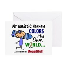 Colors Own World Autism Greeting Cards (Pk of 20)