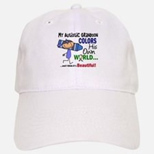 Colors Own World Autism Baseball Baseball Cap