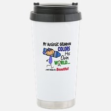 Colors Own World Autism Stainless Steel Travel Mug