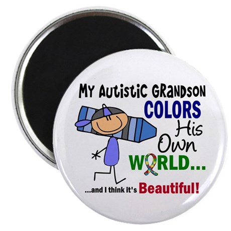 Colors Own World Autism Magnet