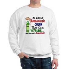 Colors Own World Autism Sweatshirt