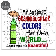 Colors Own World Autism Puzzle