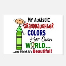 Colors Own World Autism Postcards (Package of 8)